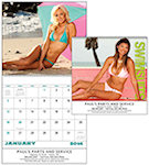 Swimsuits Spiral Wall Calendars